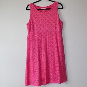Motherhood Maternity Pink Dress with overlay